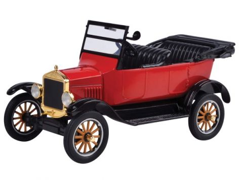 1:24 Motor Max 1925 Ford Model T Touring Red Open Top