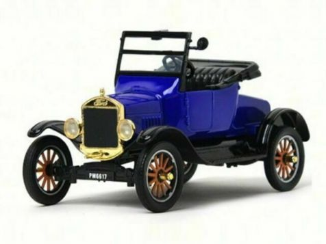 1:24 Motor Max - Platinum Collection - 1925 Ford Model T - Runabout - Blue