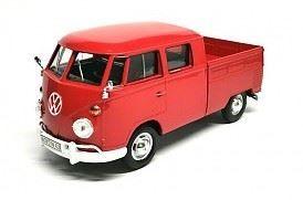 1:24 Motor Max - Volkswagen Type 2 (T1) - Double Cab Pickup - Item #79343