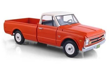 1:25 First Gear - 1968 Chevrolet C-10 Truck - Red & White - Item #40-0222
