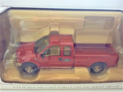 1:25 SpecCast - Ford F-250/350 Series Truck - Red - Item #52505