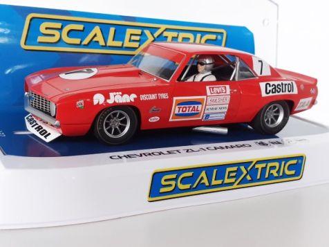 1:32 Scalextric 1972 ATCC Chevrolet ZL-1 Camaro #7 Bob Jane