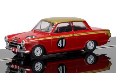 1:32 Scalextric Ford Lotus Cortina Mk1 #41 1965 ETCC 500km