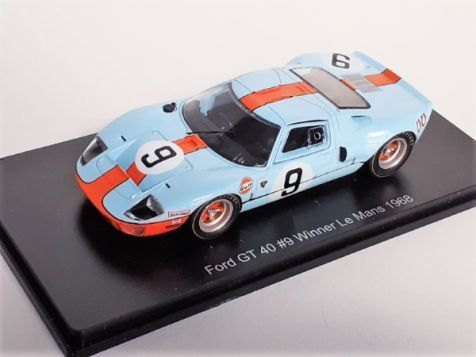 1:43 1968 Le Mans Winning Ford GT40 #9 Rodriguez/Bianchi