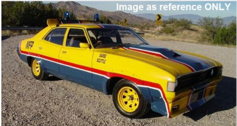"""1:43 ACE and DDA """"March Hare""""  Ford XA Falcon Police Pursuit from Mad Max"""