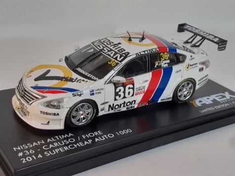 1-43-apex-replicas-nissan-altima-36-norton-racing-michael-caruso-2014-bathurst-1000-retro-bluebird-livery