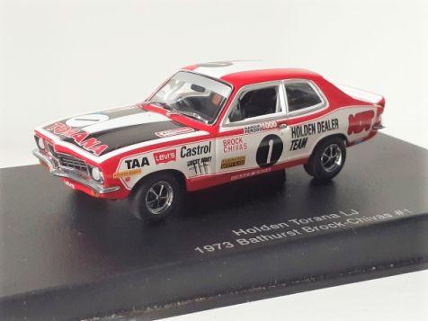 Holden LJ Torana XU-1 #1 Peter Brock & Doug Chivas 1973 Bathurst 1000