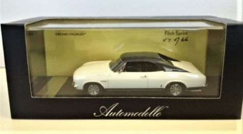 1:43 Automodello 1966 Fitch Sprint Tribute Edition White AM-FIT-SPR-TE