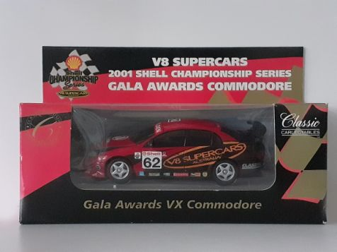 1:43 Classic Carlectables 2001 Shell Championship Series Gala Awards Holden Commodore