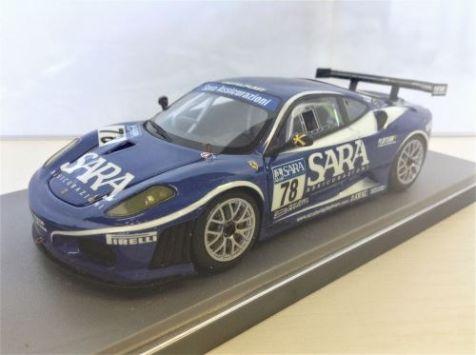 1:43 BBR/Gasoline Models Ferrari F430 GT Italia 2006 No.78 - Playteam GAS10053