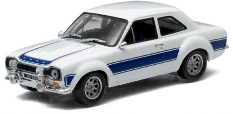1:43 Greenlight Model: 1974 Ford Escort RS2000 MK1 - Blue - 86065