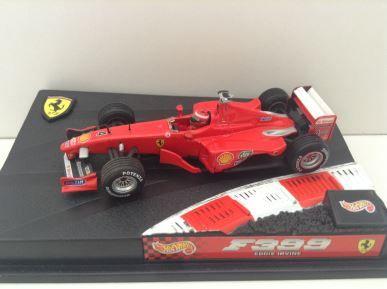 1:43 Hot Wheels Racing - 1999 Ferrari F399 - Eddie Irvine - 24626