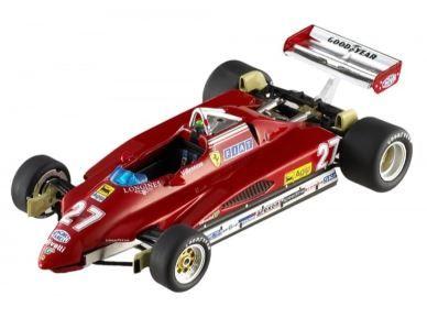 1:43 Hot Wheels Elite - Ferrari 126 C2 - 1982 San Marino GP 2nd Place - Item No. N5580