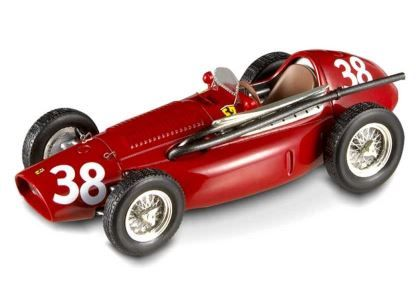 1:43 Hot Wheels Elite - Ferrari 553 F1 - 1954 Spanish GP winner - Item No. N5586