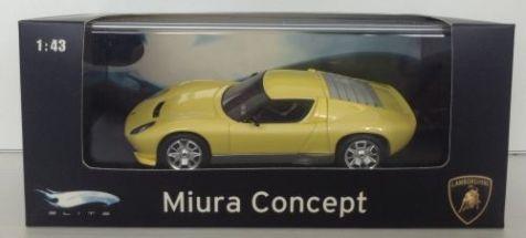 1:43 HotWheels Elite Lamboghini Miura Concept Car P4882