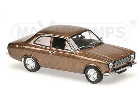 1:43 Minichamps 1974 Ford Escort I LHD Brown Metallic 940081000