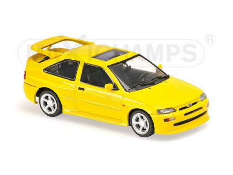 1:43 Maxichamps 1992 Ford Escort Cosworth in Yellow 940082101