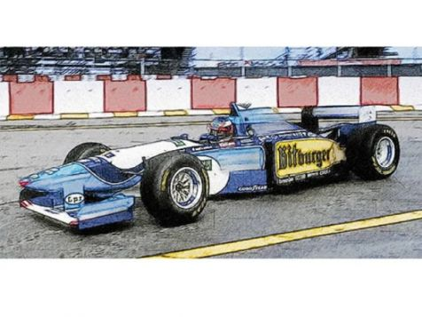 1994 French GP Winning Benetton Ford B194 #5 Michael Schumacher
