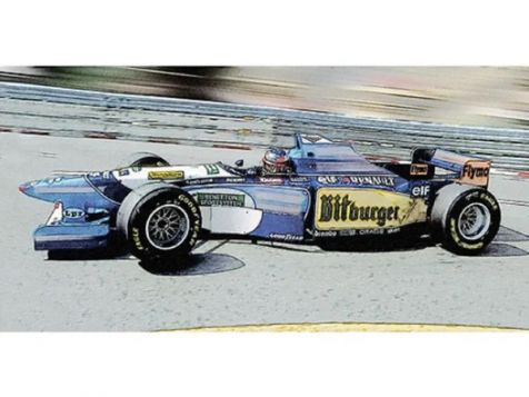 1995 Brazilian GP Winner Benetton Renault B195 #1 Michael Schumacher