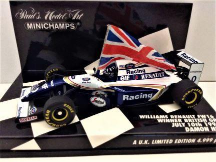 1:43 Minichamps - Williams Renault FW16 - D. Hill -  Item # 433 940101