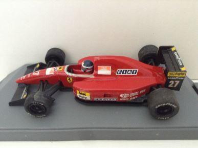 1:43 ONYX Model Cars - Ferrari F92A - 1992 F1 - Jean Alesi - Item No. 137