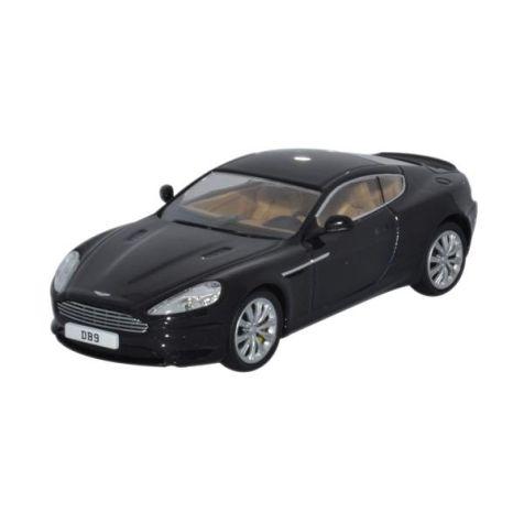 1:43 Oxford Diecast - Aston Martin DB9 Coupe - Onxy Black Item# AMDB9002