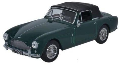 1:43 Oxford Diecast Aston Martin DB2 MkIII DHC Dark British Racing Green AMDB2002