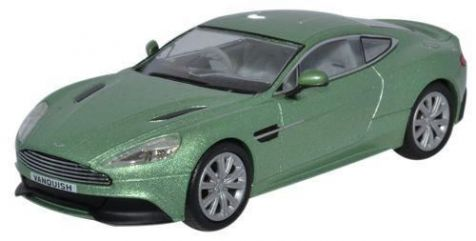 1:43 Oxford Diecast - Aston Martin Vanquish Coupe Appletree Green - Item# AMV001