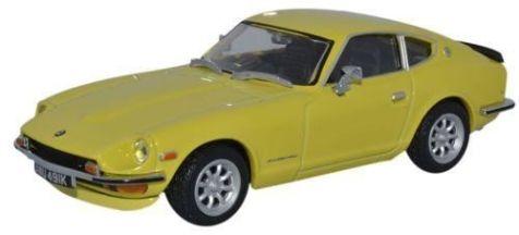 1:43 Oxford Diecast Datsun 24OZ Yellow 112 DAT002