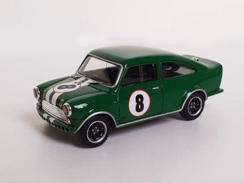 1:43 Revolution Models 1967 Broadspeed Mini #8 Stewart/Foley