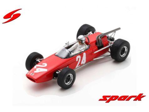 1:43 Sparkmodel 1967 McLAren M4A 2nd GP de Rouen F2 #24 Bruce McLaren