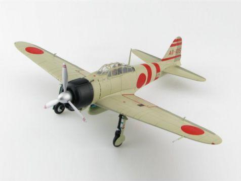 "1:48 Hobby Master Japan A6M2 Zero Fighter Type 21 Lt. Yoshio Siga, IJN Carrier Kaga, Dec 1941 ""Pearl Harbor"" HA8809"