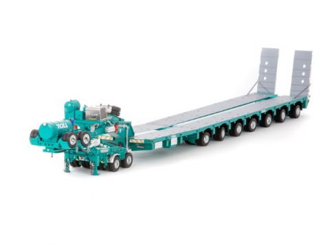 1:50 Drake 2x8 Dolly & 7x8 Steerable Low Loader in Toll Livery