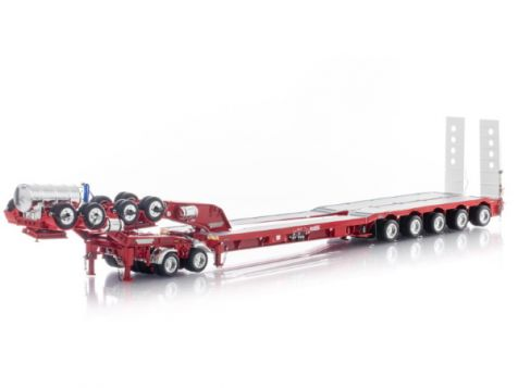 1:50 Drake 5X8 Swinging Drop Deck & 2X8 Dolly in Red ZT09239