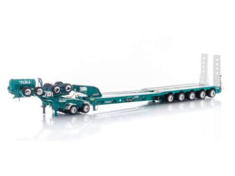 1:50 Drake 5X8 Swinging Drop Deck & 2X8 Dolly TOLL Livery ZT09237