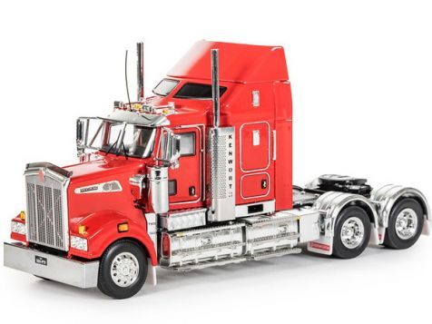 1:50 Drake Kenworth T909 in Rosso Red Z01561