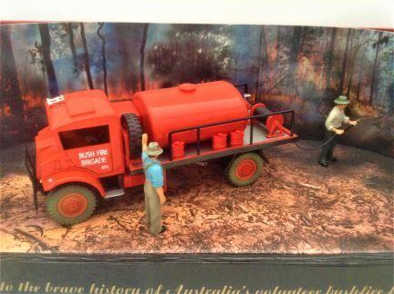 1:50 TRUX - Late 1940's Chevrolet Blitz Wagon Fire Fighting Tanker FOF1