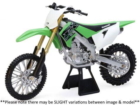 1:6 NewRay Kawasaki KX450 Dirt Bike in Green