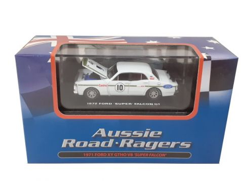1:64 Aussie Road Ragers 1971 Ford XY Falcon GTHO #10 Ian 'Pete' Geoghegan