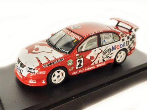 1:64 Biante - Holden VX Commodore - 2002 Holden Racing Team - #2 Jason Bright - Item# B640601B