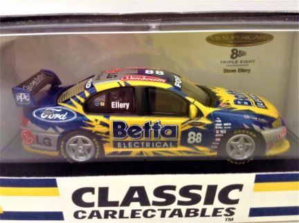 1:64 Classic Carlectables - Ford BA Falcon - Team Betta Electrical - #88 Steve Ellery - Item# 64070