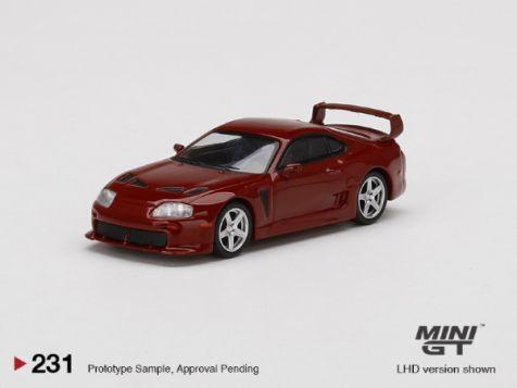 PREORDER 1:64 MiniGT Toyota TRD 3000GT in Renaissance Red