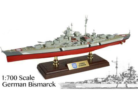 1:700 Forces of Valor German Bismarck Battleship