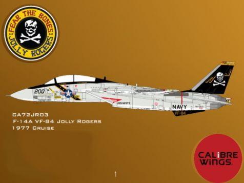 1:72 Calibre Wings 1980 F-14A IRIAF CA721415