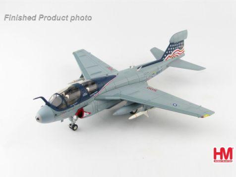 "1:72 Hobby Master Grumman EA-6B Prowler ""Patriots"" 163521, VAQ-140, USS Dwight D. Eisenhower, CVW7, 2012 ""Operation Enduring Freedom"""