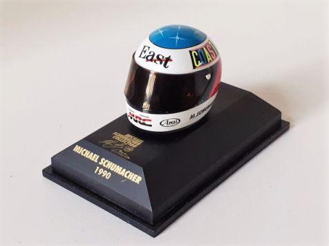 1:8 Minichamps Michael Schumacher Arai Bell F3 Helmet 1990 510381005