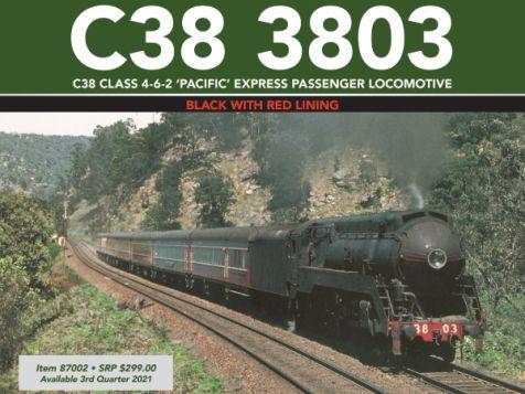 C38 Class 4-6-2 'Pacific' Express Passenger Locomotive #3806 HO Gauge