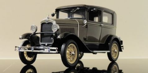 1:18 Sun Star FORD MODEL A COUPE (CHICLE DRAB) - 1931
