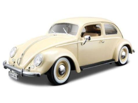 1:18 Bburago 1955 Volkswagen Kafer Beetle in White