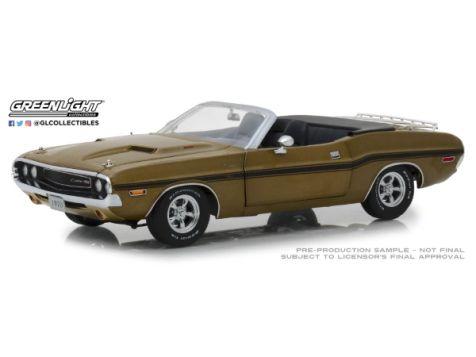 1:18 Greenlight 1970 Dodge Challenger R/T Convertible Gold